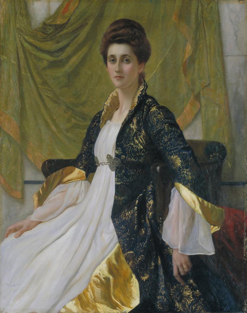 Portrait of Mrs Ernest Moon