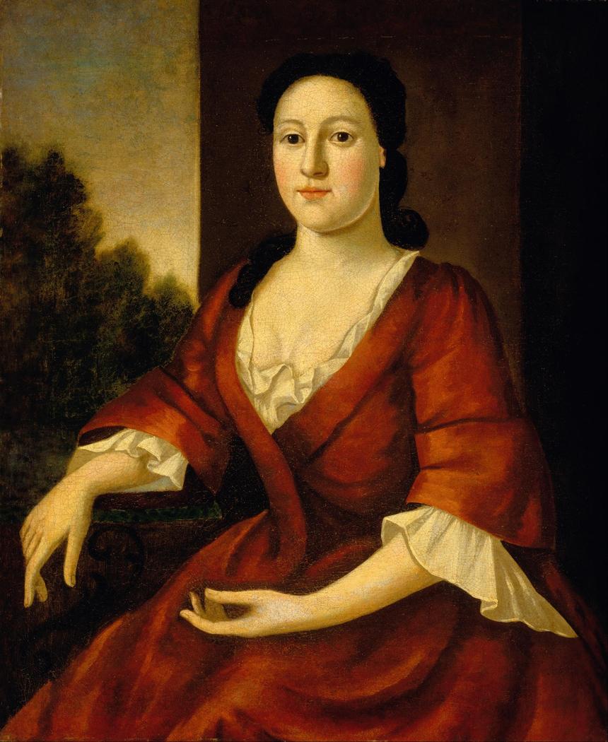 Portrait of Mrs. John Greenleaf (Priscilla Brown, born 1725)