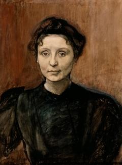 Portrait of Sculptor Madeleine Jouvray