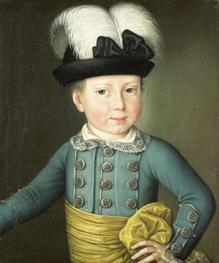 Portrait of William Frederick, Prince of Orange-Nassau, later King William I, as a Child