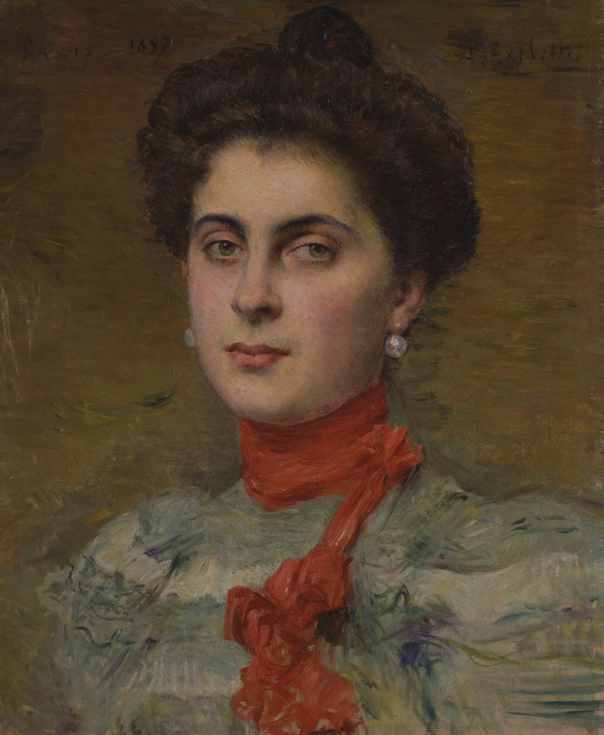 Portrait of Young Princess M.P. Abamelek-Lazareva