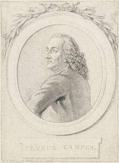 Portret van professor Petrus Camper