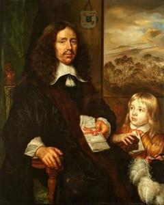 Portretten van Mr. Albert van Nierop en zijn kleinzoon Albert Schas