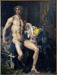 Priam aux pieds d'Achille