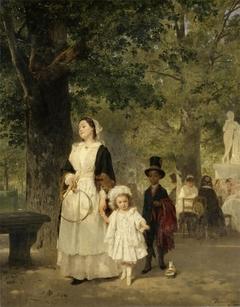 Promenade in the Tuileries Gardens