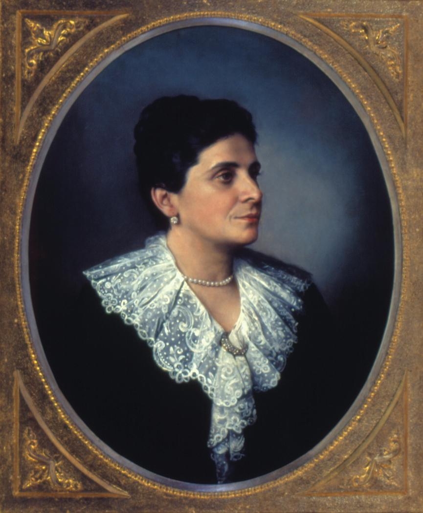 Retrato de Dona Jessy de Souza Queiroz