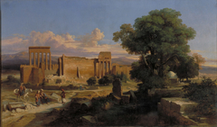 Ruins in Baalbek
