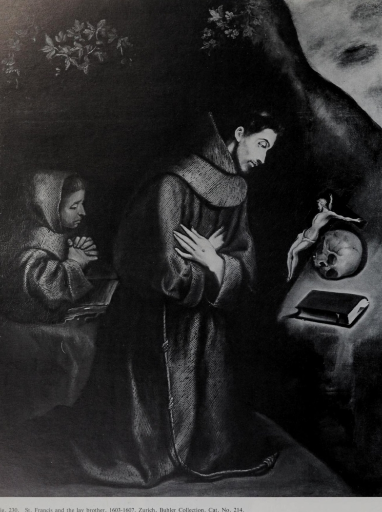 Saint Francis and the Lay Brother