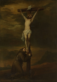 Saint Francis at the Foot of the Cross