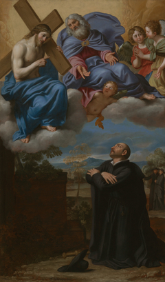 Saint Ignatius of Loyola's Vision of Christ and God the Father at La Storta