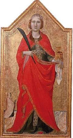 Saint Lucy with a female patron