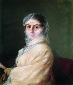 Sarkizova Ann, second wife of I. Aivazovsky
