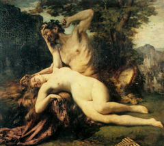Satyre and Menade