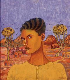 Self Portrait of Abraham Ángel