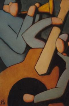 Serie Los músicos. Músicos III