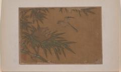 Seven Birds in Bamboo Tree Nest