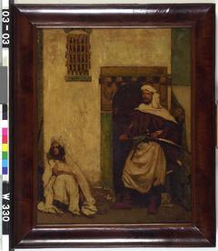 Sheik met slavin