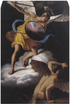 St. Michael and the Devil