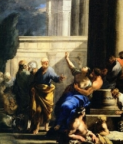 St. Peter Exorcising a Possessed Woman