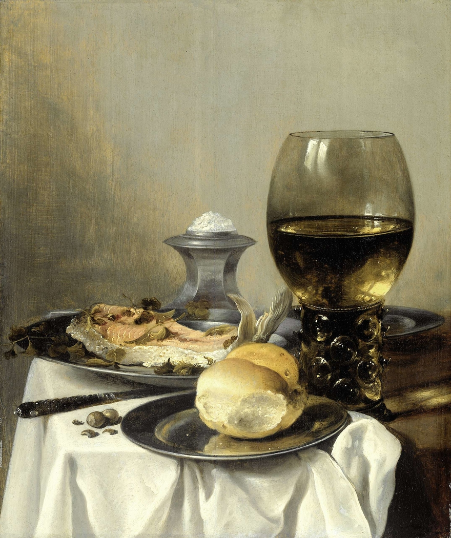 Still Life with a Salt
