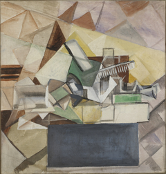 Still life with comb
