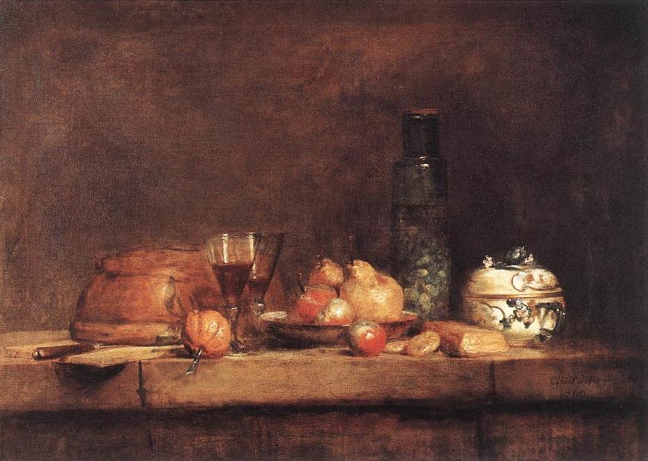 Still-Life with Jar of Olives