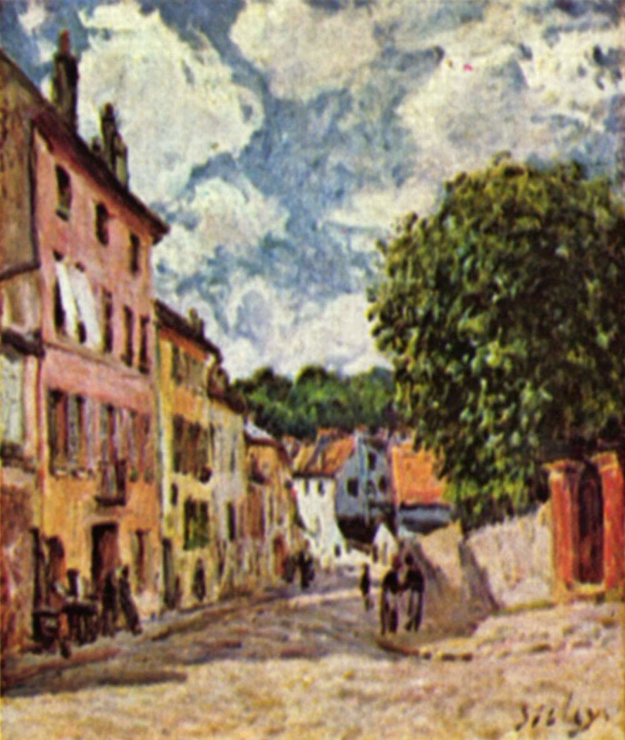 Street in Moret-sur-Loing