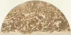 Strijd der Centauren en Lapithen op de bruiloft van Pirithoüs en Hippodamea