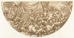 Strijd tussen de Centauren en Lapithen op de bruiloft van Perithoüs en Hippodamea