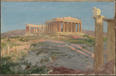 "Study for ""The Parthenon"""