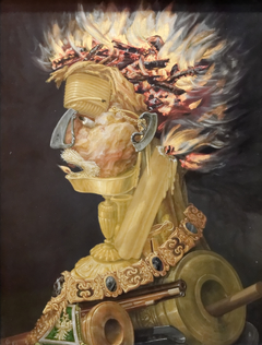 The allegory of Fire