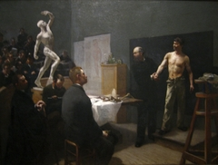 The Anatomy Class at the École des Beaux-Arts