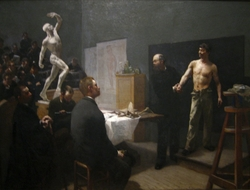 The Anatomy Class at the École des Beaux-Arts