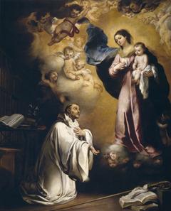 The Apparition of the Virgin to Saint Bernard