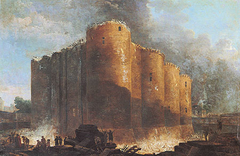 The Bastille in the Early Days of Its Demolition