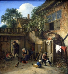 The Cottage Dooryard