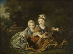 The Duke of Berry and the Count of Provence as Children
