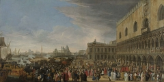 The Entry of the French Ambassador in Venice in 1706