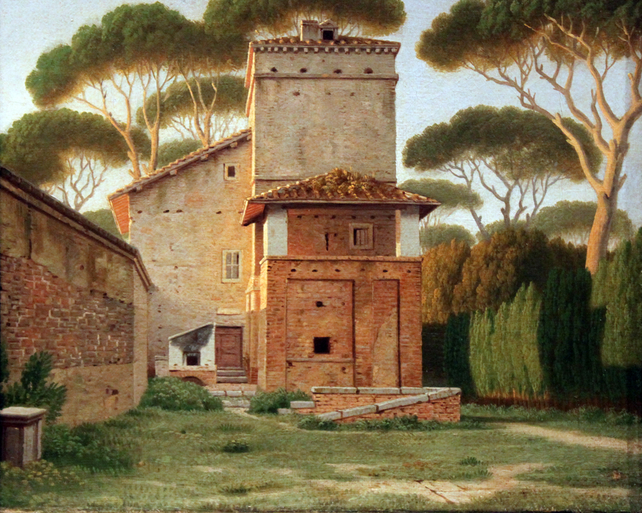 The Gatehouse in the Park of Villa Borghese, Rome