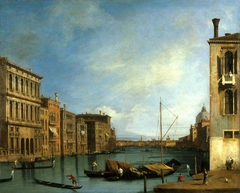 The Grand Canal from the Campo San Vio, Venice
