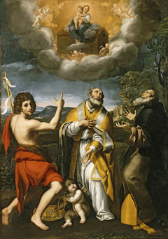 The Madonna of Loreto Appearing to St. John the Baptist, St. Eligius, and St. Anthony Abbot