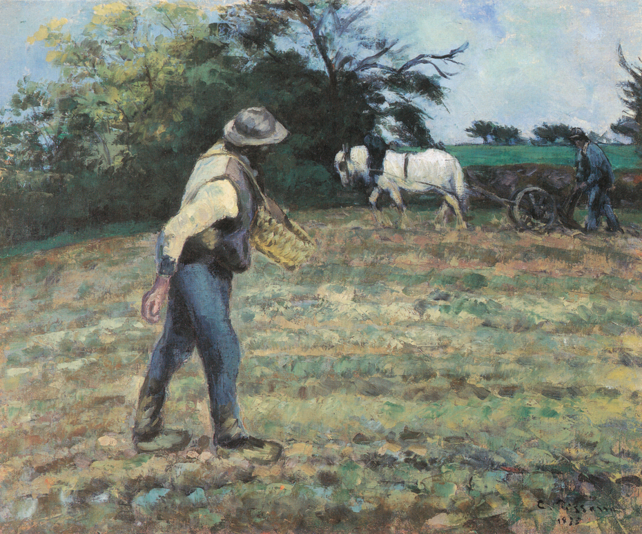The Sower and the Ploughman, Montfoucault