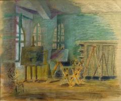 The studio in Hydra - Το στούντιο στην Ύδρα