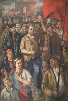 The working people of the uprising on 21 June 1940 in Tartu