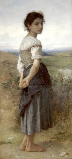 The Young Shepherdess