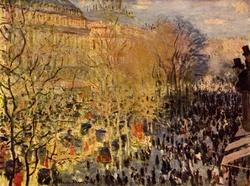 Boulevard des Capucines in Paris