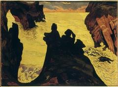 La Mer jaune, Camaret
