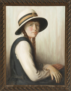 Untitled (Portrait of a schoolgirl)