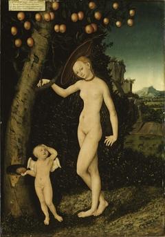 Venus and Cupid as Honey Thief