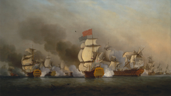 Vice Admiral Sir George Anson's Victory off Cape Finisterre